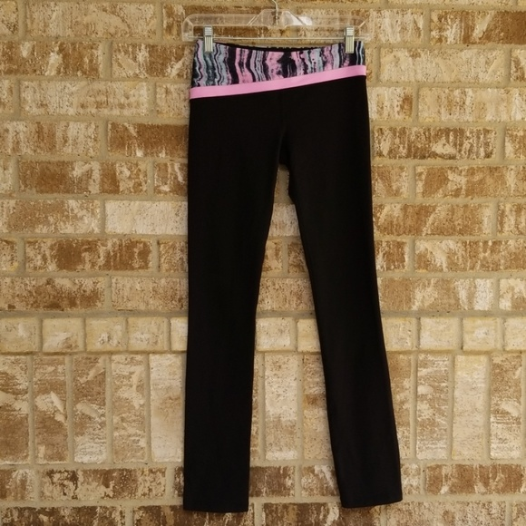 Ivivva Other - IVIVVA Girl's Black Leggings Size 12